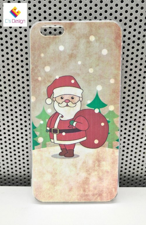 Winter santa pattern custom Samsung S7 S8 note5 iPhone 5 5s 6 6s 6 plus 7 7 plus 8 8 plus X ASUS HTC Sony Ericsson g5 v20 mobile phone case phone case Christmas phonecase
