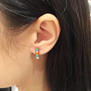 ololssim ethnic earrings retro long bar