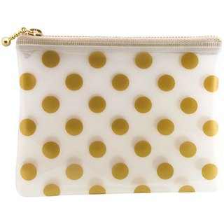 [Japanese] Neige LABCLIP Series pouch (small - zip) / Gold