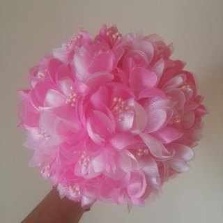 [Wedding] successful flower bouquet - small monochrome (Pink)