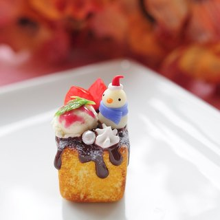 Sweet Dream ☆ ☆ Christmas snowman honey toast / dust plug / bag ornaments / decorations / Magnets