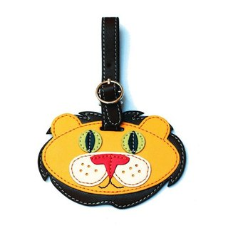 Organized Travel- cute animal shaped luggage tag / ID tag / key ring (Lions)
