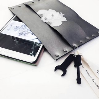 orchid series:  ipad case and fashion clutch