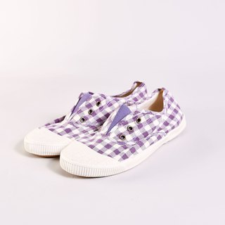 50% off - small spots at the insole - FREE plaid purple