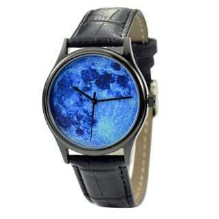 Moon Watch (blue) black shell