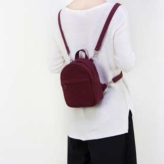 Small 3 Ways Backpack in Canvas/Long Shoulder/Cross-body/Available in 8 colors