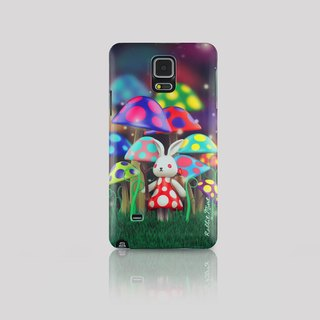 (Rabbit Mint) Mint Rabbit Phone Case - Bu Mali mushrooms series Merry Boo - Samsung Note 4 (M0003)