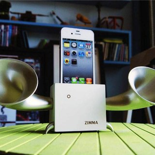 ZIMMA Desk Speaker Stand( For iPhone SE / 5s / 5 / 5c / 4s / 4 / iPod Touch 5  )