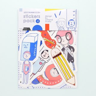 Stationery / Medium Sticker Set 2-4