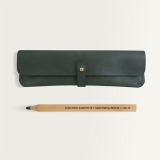 Buckle Pen Bag -- Forest Green