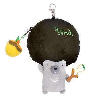 duma retractable ticket holder purse - chestnuts
