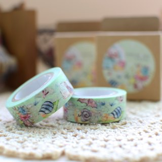 Ariselin Design paper tape - small snail