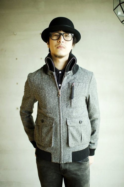 Machismo- wool high lapel jacket