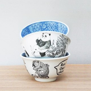 <The most beautiful moment> Series soup / Hey! Bear Run (single) bowl