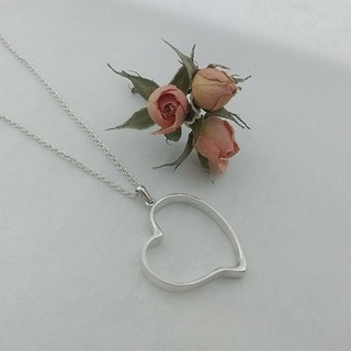 Set Wyatt. If his sterling silver heart necklace. 010