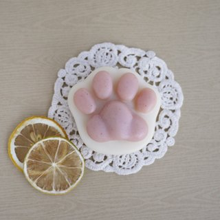 Shea Butter Cat Paw Soap (For Body) - Lemon