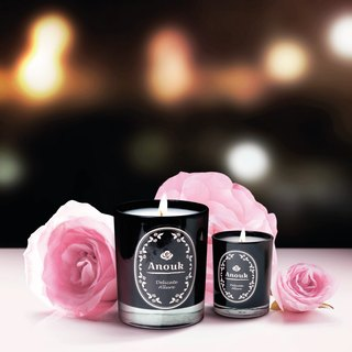 DELICATE ALLURE - Anouk Luxury Scented Soy Candle (210g)