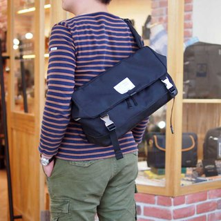 Japanese casual material waterproof messenger bag Made in Japan by SUOLO