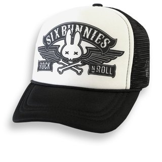 SIX BUNNIES Rock N & # 39;! Roll - Rock with it a truck cap / baseball cap
