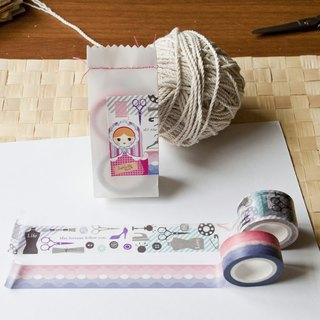 Washi Paper Tape /Rose dressmaker