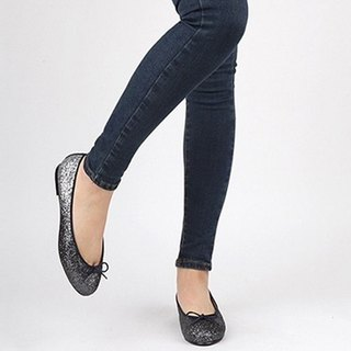 【Korean trend】SPUR Gradation stone flats HS8027 BLACK