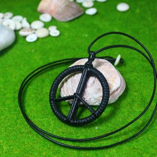 TvT PEACE woven rope necklace knitless models