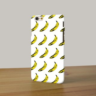 Andy Warhol Banana 3D Full Wrap Phone Case, available for  iPhone 7, iPhone 7 Plus, iPhone 6s, iPhone 6s Plus, iPhone 5/5s, iPhone 5c, iPhone 4/4s, Samsung Galaxy S7, S7 Edge, S6 Edge Plus, S6, S6 Edge, S5 S4 S3  Samsung Galaxy Note 5, Note 4, Note 3,  Not