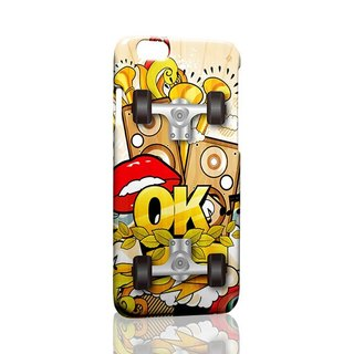 OK graffiti custom Samsung S5 S6 S7 note4 note5 iPhone 5 5s 6 6s 6 plus 7 7 plus ASUS HTC m9 Sony LG g4 g5 v10 phone shell mobile phone sets phone shell phonecase