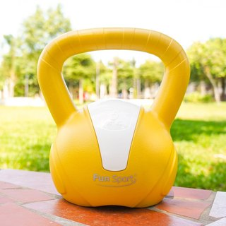Fun Sport 5 kg kettle kettle kettlebell (yellow)