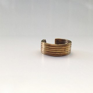 Ohappy minimalist series | safe brass ring