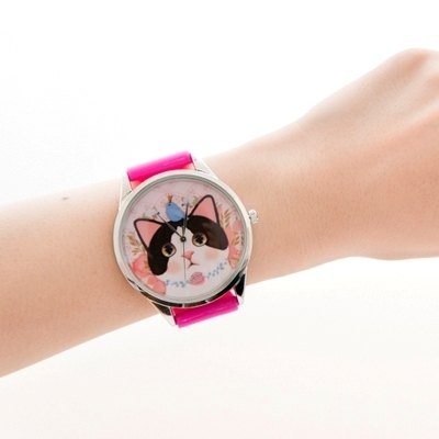 Jetoy, sweet cat good mood Watch (Pink + S) (Japan) _Jewelry (JJWW015)