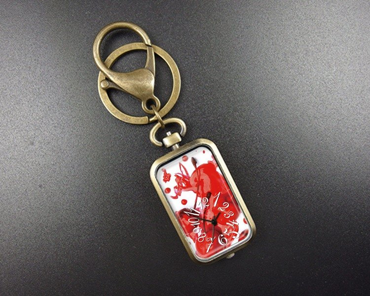 Red Cherry - Charm / Key Ring / Pocket Watch / Necklace / Accessories [Special U Design]