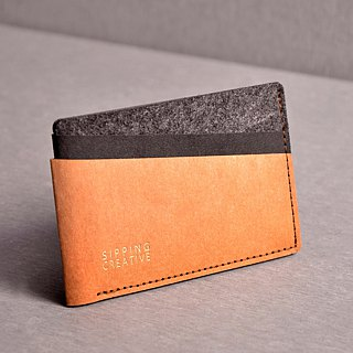 Credit Card Holder_Brown Mix