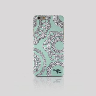 (Rabbit Mint) iPhone 6 Case - Lace & Mint (P00006)