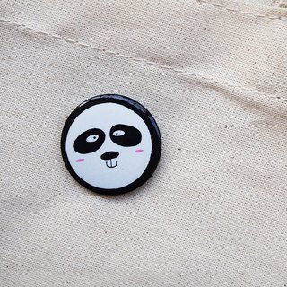 CHUMIO Animal Sticker Series: Pin/Magnet (Panda)
