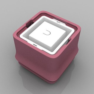 POLAR ICE Polar Ice Box Fang Bamboo Series New Color - Square Ice (Pink)