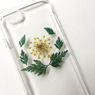 Phonecase for HIM :: pressed flowers case