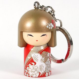 Keyring - Michi Wisdom [Kimmidoll and Blessing Doll Keyring]