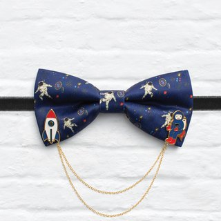 Style 0172 Bowtie with decorative pins - Modern Boys Bowtie, Toddler Bowtie Toddler Bow tie, Groomsmen bow tie, Pre Tied and Adjustable Novioshk