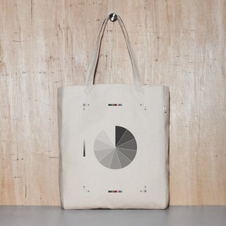 Gray Scale Original Canvas Tote Bag