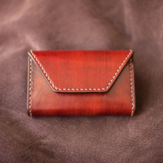 Leather handmade leather card holder / change box (Cikou) revision