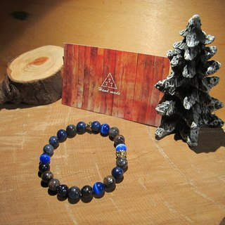 ▲ blue is the warmest color / handmade original stone bracelet