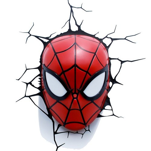 3D Light FX - Marvel Series Spider-Man Mask