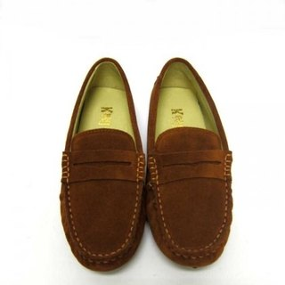 Fort Tony Wang handmade leather shoes (female) [matte / bean bottom / light brown]
