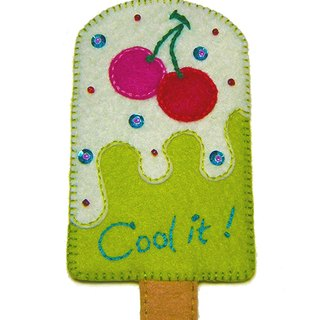 Popsicle card sets - Cherry
