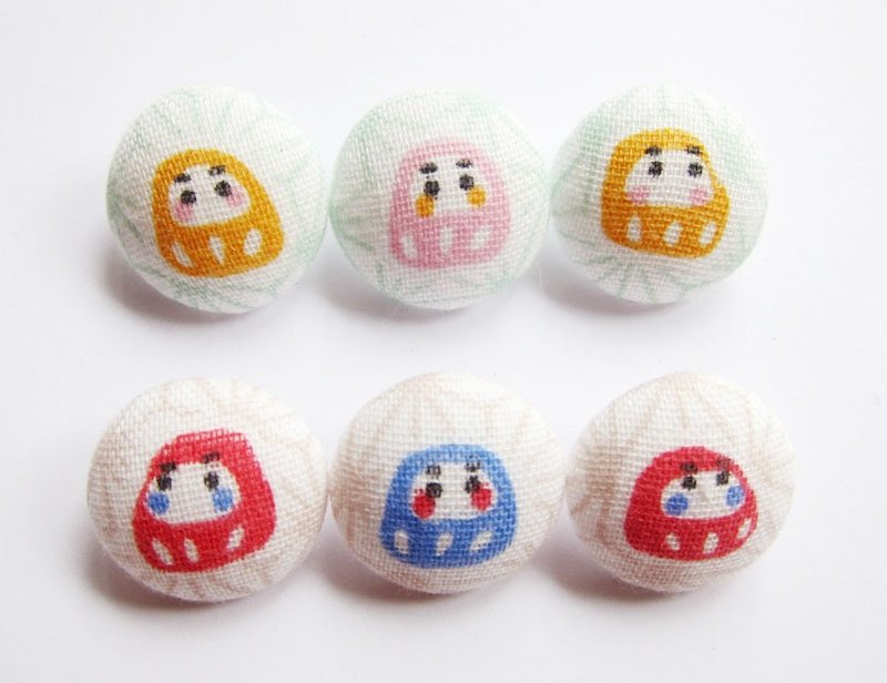 Cloth button sewing knitting hand-made material Japan tumbler