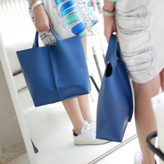 gift ! SIGNATURE TOTE (BLUE)