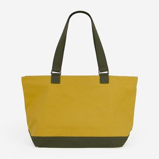 Multi Softly Structured Top Zip Tote in Canvas/Up to A4/Available in 9 colors
