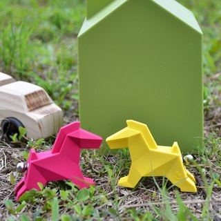 Origami Zoo ZOORIGAMI horse! Valentine's Day limited combination (Rose Red + Yellow) Limited 10 group