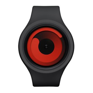 Cosmic gravity + watches GRAVITY PLUS + (Black / Red, Black / Red)
